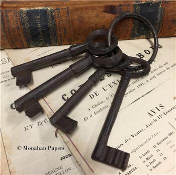 Jumbo keys - Set of 4