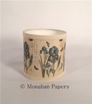 "Blue Iris 6"" Lamp Shade - BOT35"
