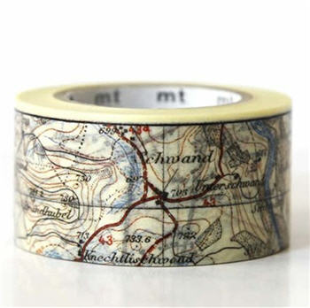Map Washi Tape - MAPWT