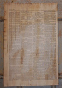 March, 10, 1855 Paper Sheet