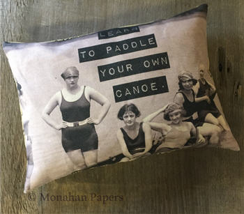 Learn To Paddle Pillow - Q10PIL