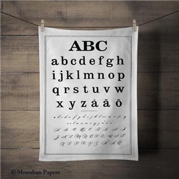 ABC Tea Towel - TTSPS128