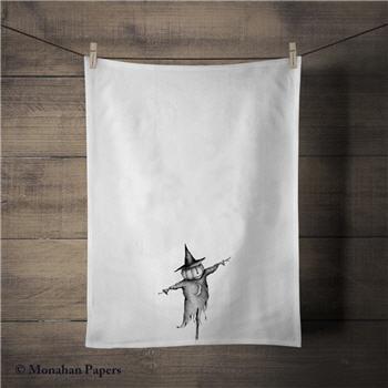 Pumpkin Scarecrow Tea Towel - SPS1296TT