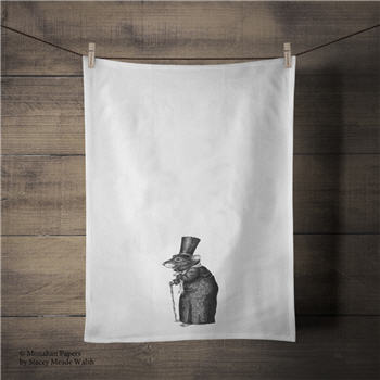 Scrooge Mouse Tea Towel - SPS334TT