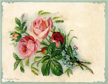 The Rose Bouquet - SPS917