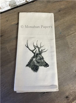 Bucky Deer Tea Towel - TTC126
