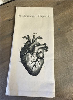 The Heart Tea Towel - TTHEART