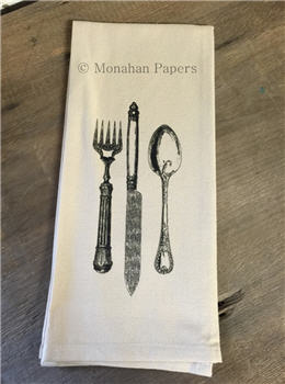 Knife, Fork & Spoon Tea Towel - TTSPS343