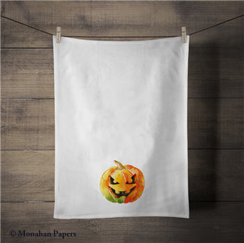 Pumpkin Tea Towel - WP1