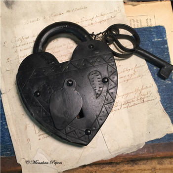 Heart Lock with Keys