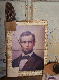Classic Abraham Lincoln Journal-