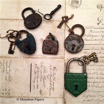 Antique French Locks - Assorted