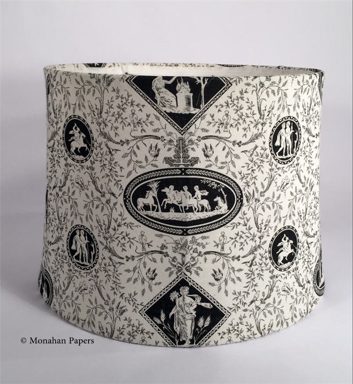 Black And White Toile Lamp Shades Lamps Shades – Toile Chandelier Shades