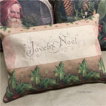 Joyeux Noel Pillow - C107PIL