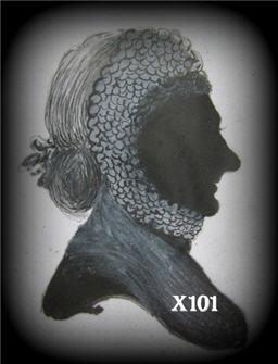 "Mrs. Pierson ""1827"" Silhouette"