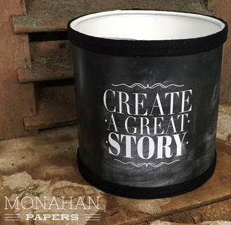 "Create A Great Story Lamp Shade - 6"" Round - CH256LS"