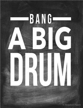 Bang A Big Drum - CH61