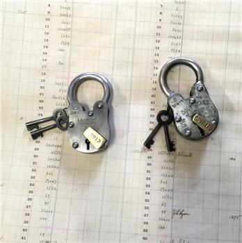 Vintage Style Locks