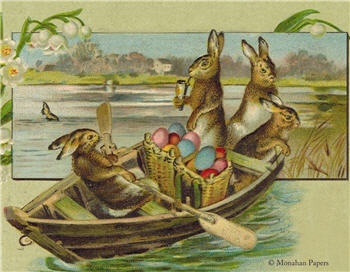 Boating Bunnies - E106