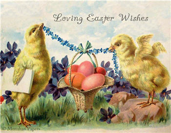 Loving Easter Wishes - E93