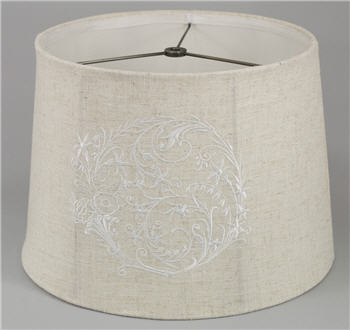 Embroidered Lamp Shade - EMLS