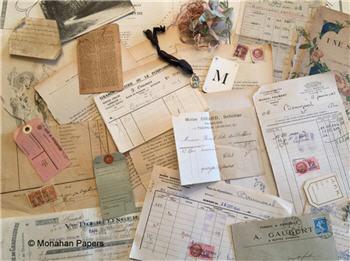 French Ephemera Kits - Antique & Vintage
