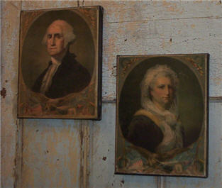 George and Martha Washington-
