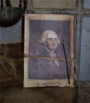 George Washington Potpourri Pouch