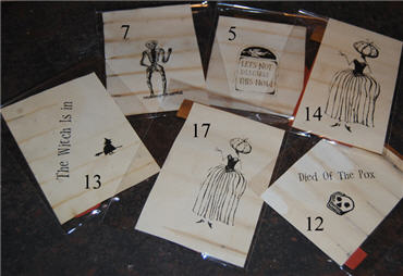 Halloween Rubber Stamps 2