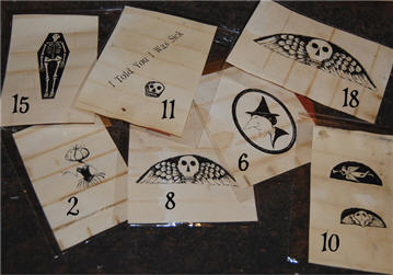 Halloween Rubber Stamps 1