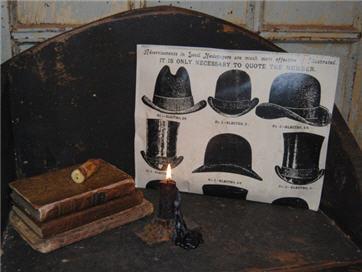 Men' Hats Potpourri Pouch