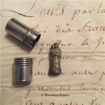 Antique French Pocket Shrine