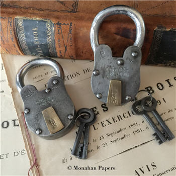 Vintage Style Locks - B