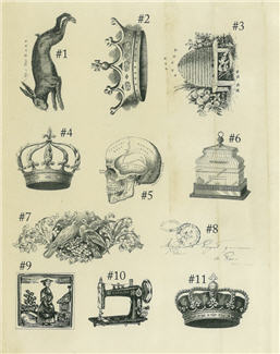 Rubber Stamps Sheet 1-