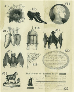 Rubber Stamps Sheet 2