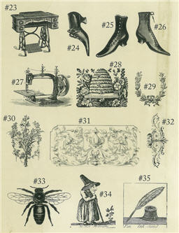 Rubber Stamps Sheet 3