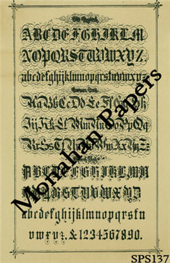 Old English Paper Sheet-writing, hand writing, script, lettering, 