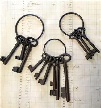 Vintage Style Skeleton Keys