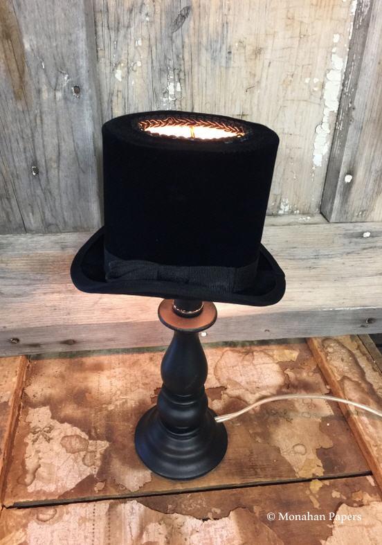 Top Hat Lamp Shade