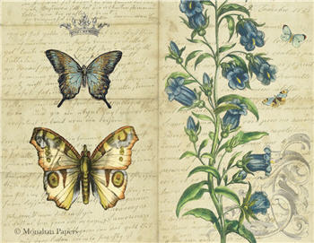 Blue Bells Butterflies - SPS1251