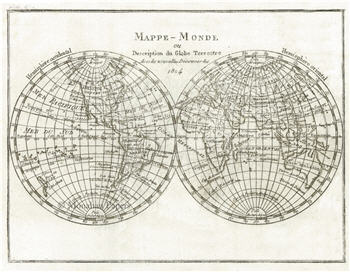 1804 Mappe -  Monde - SPS1291