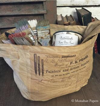 Painters & Artists Supplies Canvas Storage Tote - SPS1313CSBSM
