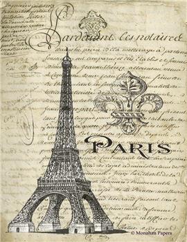 Paris Eiffel Fleur - SPS1381