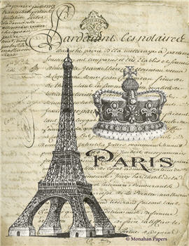 Paris Eiffel Crown - SPS1382