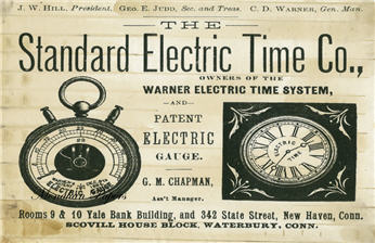 Standard Electric Time Co. - SPS162