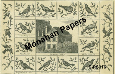 Parsonage House Paper Sheet-