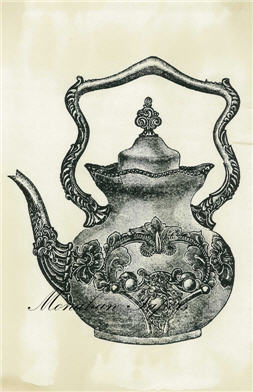 English Teapot - SPS322