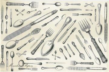 Knife, Fork, Spoon Medley - SPS363