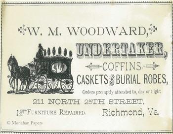 W.M. Woodward Undertaker - SPS717