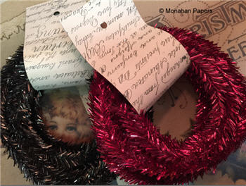 Tinsel Ribbon - 5 yds